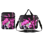 "10"" 13"" 15"" 17"" Laptop Butterfly Orchid Shoulder Sleeve Bag Carrying Case Cover"