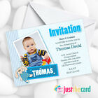 Personalised Christening Invitations - Baptism Naming Ceremony Packs Of 8
