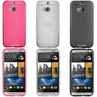 For HTC One 2 2014 M8 TPU Gel Rubber Flexible Frost Matte Cover Phone Case Skin