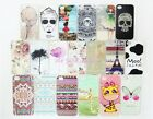 Anti Slip Diamond Painted Various Pattern Plastic Hard Case Cover For iPhone 4 5