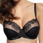 Panache Superbra Lingerie Loretta Balconnet Bra Black 6681 NEW Select Size