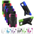 Phone Case For Motorola Droid Ultra Corner Hard Cover Stand + Stereo Headset