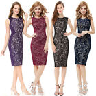 Ever Pretty Sexy  Short Black Cocktail Evening Prom Casual Party  Dress 05336