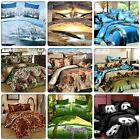 ANIMALS Queen/King Size Bed Quilt/Doona/Duvet Cover Pillowcases Set New