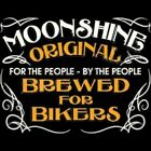 WHISKEY BREWED FOR BIKERS MOTORCYCLE BIKER T SHIRT M TO 6XL