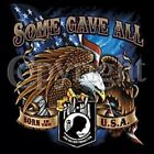 POW MIA SOME GAVE ALL BORN IN THE USA T SHIRT