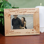 Personalized Serenity Prayer Picture Frame Inspirational Engraved Photo Frame