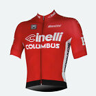 Cinelli Cycling Jersey in Red Made in Italy by Santini