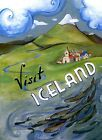 Visit Republic of Iceland Nordic island Travel Vintage Poster Repro FREE S/H