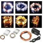 2M/3M/10M LED Copper Wire LED String Festival Party Wedding Fairy Light Lamp NEW