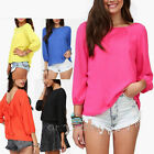 Sexy Women Cut Out Back Backless Evening Chiffon Top T-Shirt Blouse with Bow Tie