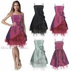 Maggie Tang Short Evening Party Cocktail Prom Bridesmaid Wedding Dress SZ 6-22