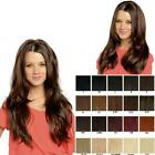 Double volume reversible straight flick Half Fall Half Wig Various colours