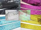 """5 yards Sequin 1.5"""" Sparkly Ribbon Craft/Trim/Lace/Sewing/Wide R113-Pick Colors"""