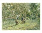 """ROBERTO FONTANA """"In Orchard"""" print italian summer choose SIZE, from 55cm up, NEW"""