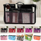 Women Lady Organizer Handbag Travel Bag Insert Liner Purse Organiser Large Tidy