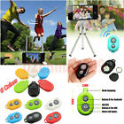 Wireless Bluetooth Remote Control Camera Shutter for iPhone Samsung IOS Android