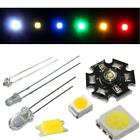 Various LEDs for model building, car lighting ; SMD LEDs, High-power LEDs