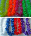 Any Colour Lei Flower Garland Necklace Hawaiian Tropical Party Fancy Dress