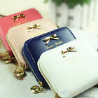 CHIC WOMENS MINI FAUX LEATHER LADY PURSE WALLET CARD HOLDERS HANDBAG CLUTCH GIFT