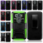 WHOLESALE LOT For LG G3 Tuff Rugged Side Stand Holster Cover Case