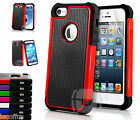 NEW SHOCK PROOF ARMOR HYBRID CASE COVER  FOR VARIOUS PHONE FITS APPLE SAMSUNG