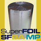 SFBA MP BUBBLE FOIL LOFT INSULATION ALUMINIUM 2 x FOIL 1 X BUBBLE 1500mm WIDE