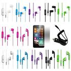 Earphone For Nokia Lumia 635 630 Stereo Headset Screen Protector Car Charger