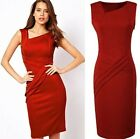 Sexy Women Sleeveless Club Bodycon Cocktail Party Evening Short Mini Slim Dress