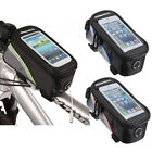 Cycling Bicycle Bike Frame Pannier Front Tube Pouch Case Bag Mobile Phone Holder