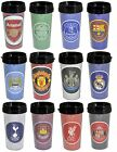 OFFICIAL FOOTBALL CLUB -  TRAVEL MUG (Team Crest/Bullseye) (Coffee/Tea/Work)