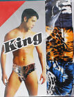 S M L XL Assorted Pack Low Rise Briefs Satin Tiger Animal Print Mens Underwear