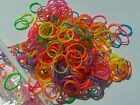 NEON LOOM BANDS BRIGHT RAINBOW ELASTIC RUBBER BANDZ & HOOK REFILL PACK UK 544009