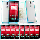 Aluminum Metal Bumper Case Frame Cover+Tempered Screen For OnePlus One 1+ A0001