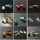 8X20mm sparkling cone-shape crystal beads 20-40pcs color&quantity optional