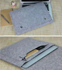 "Felt 11.6""13.3""15.4"" Laptop Sleeve Cover PC Pouch Bag Case For Macbook Air Pro"