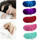 3D Eye Mask Blinder Blindfold Sleeping Soft Sponge Cover Travel Sleep Rest Shade