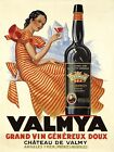 Algeria Argelia Valmya Red Wine North Africa French Vintage Poster Repro FREE SH