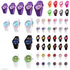 sv24 Wrist Watch Silicone Clock Kids Women Men Colorful Watches Color choice New