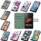 For Sony Xperia L S36h C2105 leather case mobile smatrphone cover wallet from CN