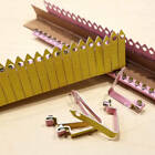 Zip Wing Bands 100pcs. NOT STAMPED Aluminum Bands Chicken Pheasant Poultry Bird