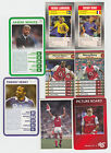 Football : Arsenal trade + game cards LIST 2