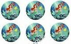 LITTLE MERMAID Frosting Circles Edible Cupcakes