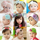 JR Exquisite Baby Girl Infant Peacock Feather Headband Hair Band Hair Flower AU