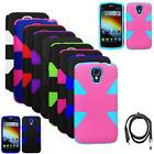 Phone Case For LG Volt 4G LTE Hybrid 2Tone-Layered Cover Dynamic w USB Charger