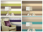 Olivia 2 - Wide Striped Wallpaper - Feature Stripe - 3 Colours To Choose