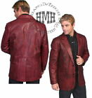 L501bc-ds Scully Western Leather Black Cherry Coat Jacket Blazer