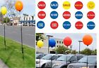 Reusable Balloon & 5'+ Pole Kit No Helium Needed Sale Special Pre Owned U Pick