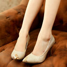New Fashion Women Pointy Classic Pumps Stiletto Party Lady High Heels Shoes CH
