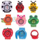 Cartoon lovely ChildrenQuartz Sport Bendable Rubber Strap Adorable Wrist Watch
